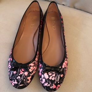 Valentino Red ballet flats size 9.5